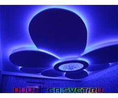 Светодиодная светотехника продажа/монтаж