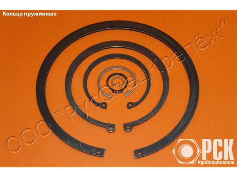 Кольцо пружинное упорное плоское ГОСТ 13940-86. - 1/1