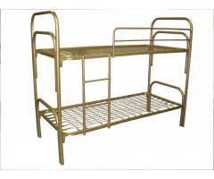 Кровати металлические недорого, кровати трехъярусные