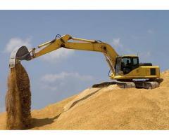 Песок карьерный строительный. Самовывоз/ доставка