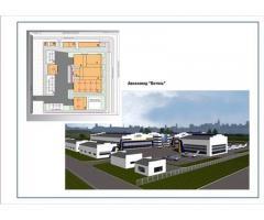 Проекты промышленных, торговых зданий, ПБ, расчет рисков