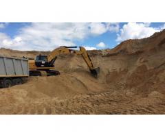 Карьерный песок оптом от производителя