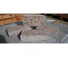 Гранитные изделия: плитка, слэбы, брусчатка, бордюр, ступени, подоконники, столешницы, балясины