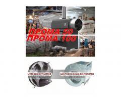 Печь воздушного отопления ПРОМА-100