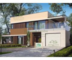 Проект каркасного дома Алит