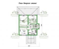 Проект каркасного дома Барселона