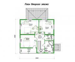 Проект каркасного дома Генуя
