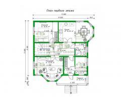 Проект каркасного дома Каскер
