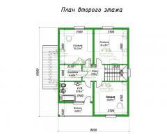 Проект каркасного дома Лима