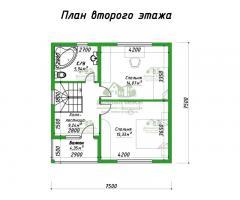 Проект каркасного дома Лутон