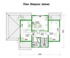 Проект каркасного дома Олинда