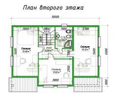 Проект каркасного дома Пьемонт