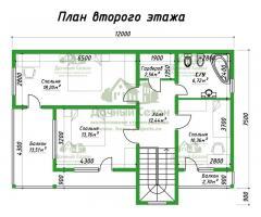 Проект каркасного дома Чойс