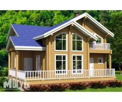 Строительство домов и бань из бруса под ключ.