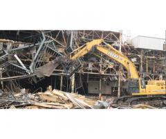 Демонтаж зданий и сооружений.