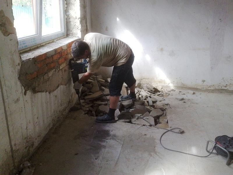 Демонтаж внутри зданий и помещений. - 1/4