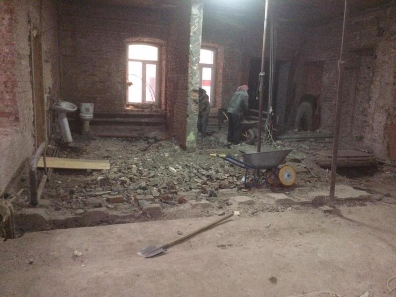 Демонтаж внутри зданий и помещений. - 2/4