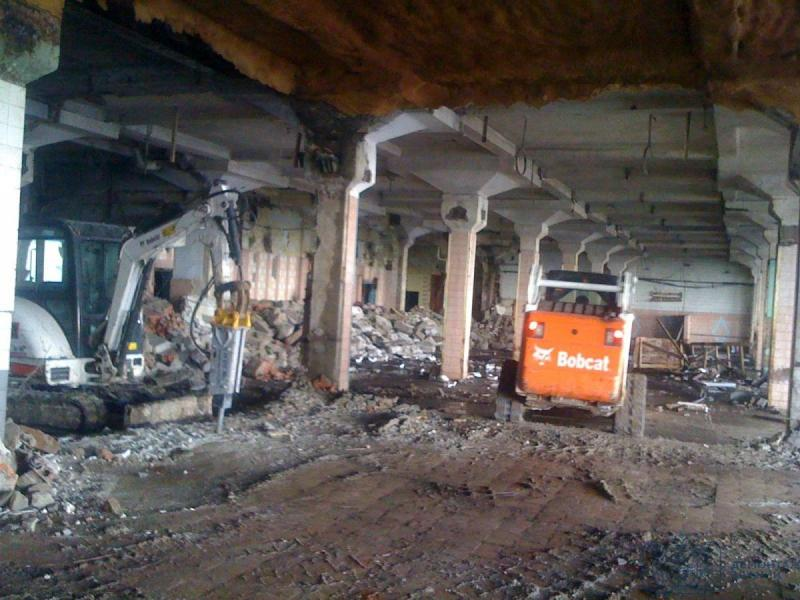 Демонтаж внутри зданий и помещений. - 3/4