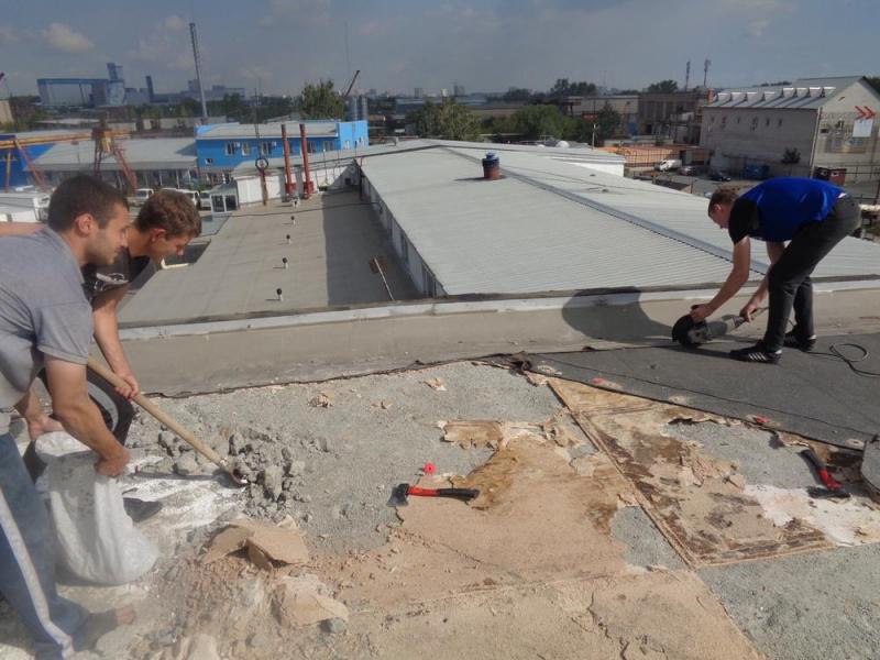 Предлагаем услуги по ремонту, монтажу и демонтажу крыши. - 1/4