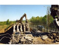 Демонтаж мостов.