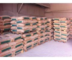Цемент в мешках и навалом, М500 и М400.