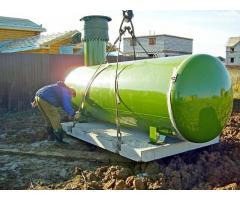 Газифицируем автономно - устанавливаем газгольдеры в Московской области