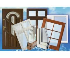 Установка окон и дверей ПВХ, установка межкомнатных и входных дверей.