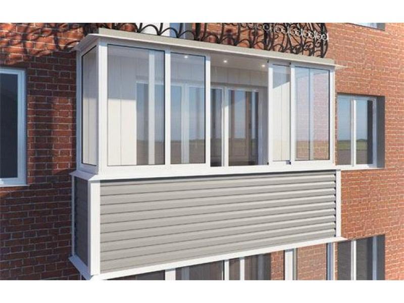 Работы по остеклению балкона. замер, выбор окон, утепление, .