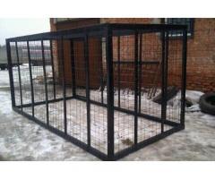 Вольеры для собак, птиц (размеры наружные)