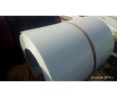 Прокат оцинкованный с полиэфирной эмалью 0.45x1250