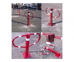 Складные и съемные парковочные столбики. Столбики для парковки