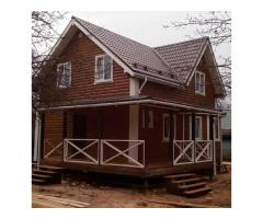 Строительство каркасных и брусовых домов и бань, без предоплаты