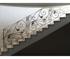 Кованые перила для лестниц дешево