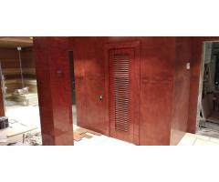 Панели деревянные для стен, изготовление и монтаж.