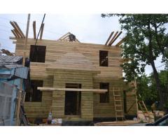 Строительство деревянных и каркасных домов, бань.