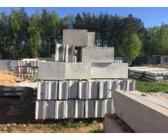 Блоки Фундаментные ФБС 24 БУ и новые, продажа и демонтаж