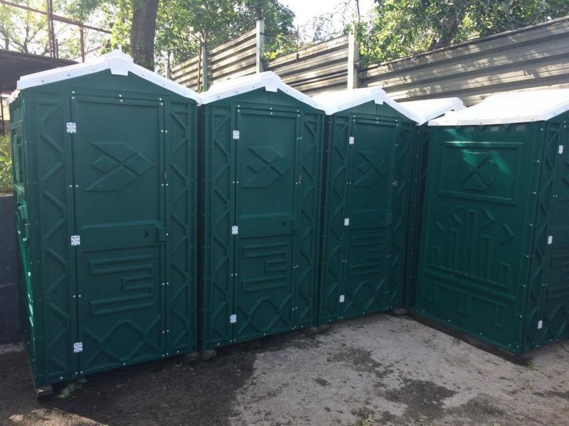 Туалетные кабины б/у, биотуалеты в х/с недорого - 1/4