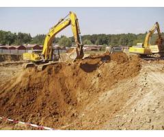 Земляные работы (котлованы, траншеи, грунт, мусор)