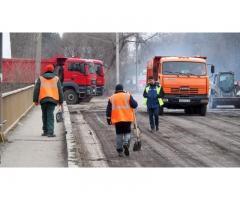 Дорожные работы, асфальтирование, ремонт