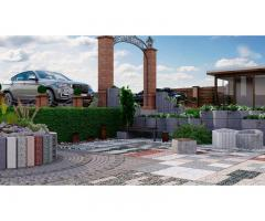 Тротуарная плитка, бордюр, элементы мощения, декор, благоустройство