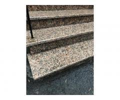Ступени лестницы гранитные мраморные