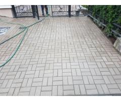 Укладка тротуарной плитки. Благоустройство