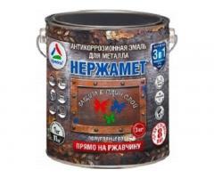 Нержамет RAL 3009 3 кг (грунт-эмаль).
