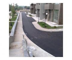 Ремонт и строительство дорог. Асфальтирование