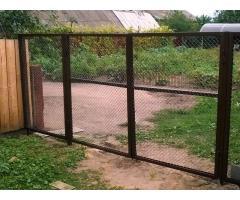 Ворота и калитки металлические