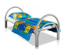 Одноярусные металлические двуспальные кровати, кровати дешево