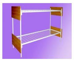 Кровати с металлическими сетками и боковушками