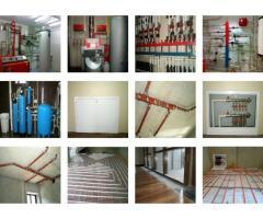Монтаж отопления и водоснабжения в Наро-Фоминске
