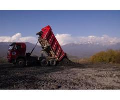 Вывоз грунта и строительного боя