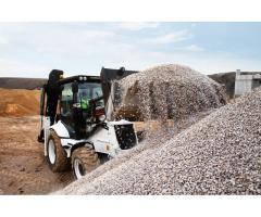 Доставка песка, щебня, плодородного грунта.